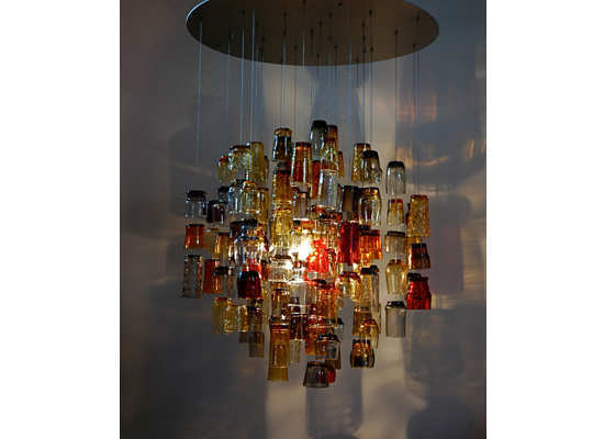 How to make your own chandelier this ones to the bow and frill lovers take a wire and mould it into a circle now make hooks with the same material shape your ribbon into bows and aloadofball Choice Image