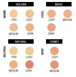 how to choose the right foundation for your skin tone