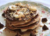 Chocolate-banana-pancake