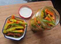 Cucumber-carrot-pickle