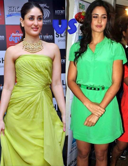 kareena-katrina-face-off-green