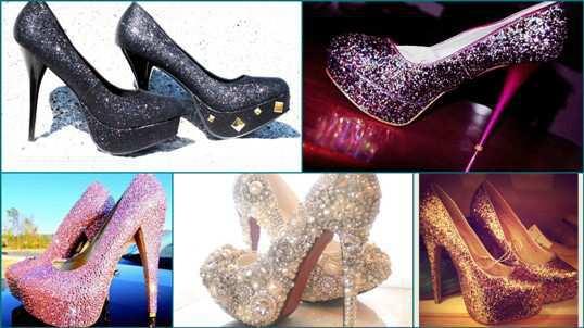 shi ny-glittery-heels