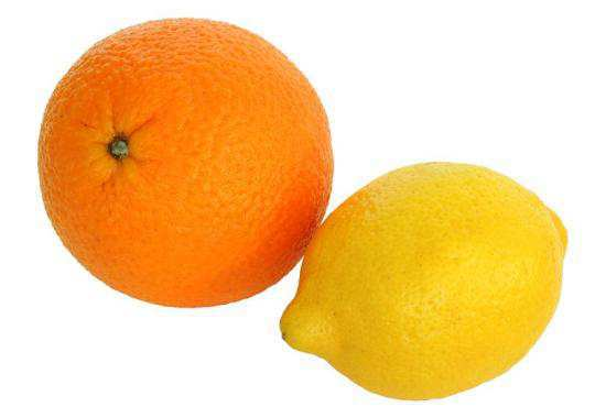 Lemons-oranges