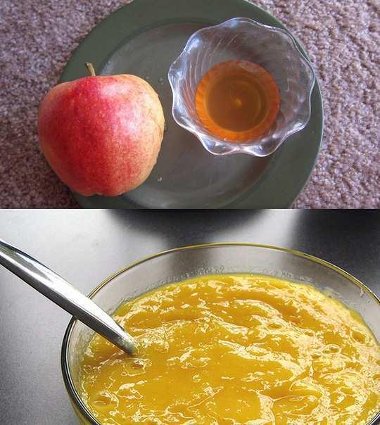 apple-honey-home-made-face-mask-for-acne