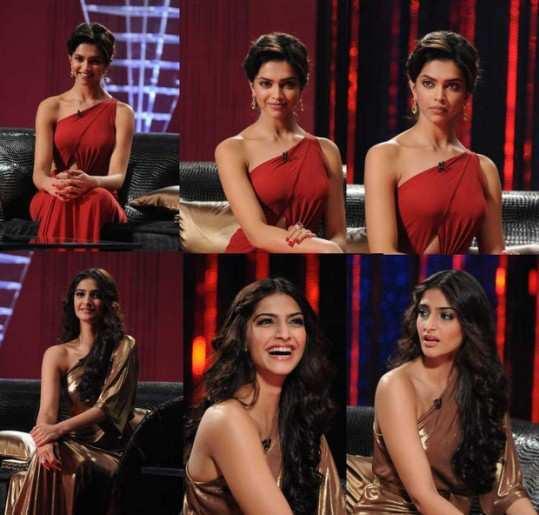 Deepika-Sonam-tv-show