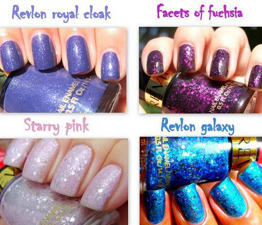 Revelon-glitter-swatches
