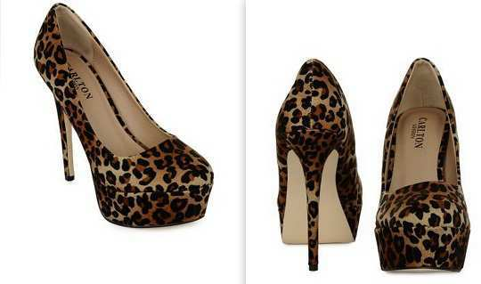 carlton-london-bron-leopard-print-pumps-myntra