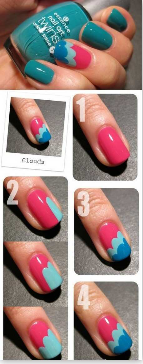 cloud-effect-nail-art