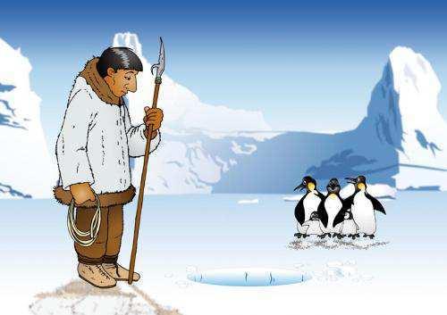 eskimo-at-work