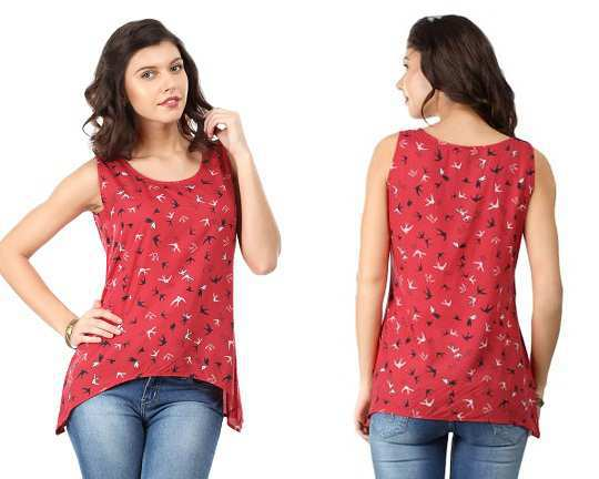 femella-red-printed-top-myntra