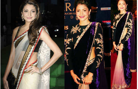 gorgeous-bollywood-divas-in-saree-anushka
