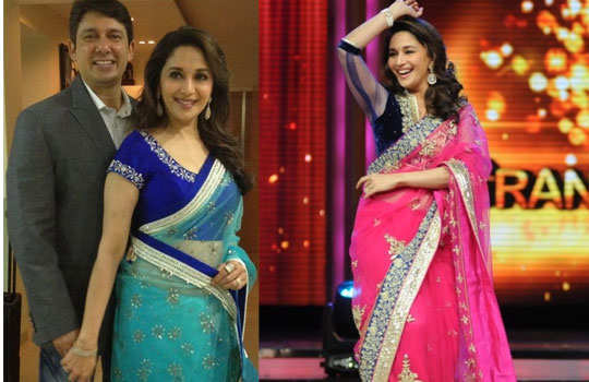 gorgeous-bollywood-divas-in-saree-madhuri-dixit