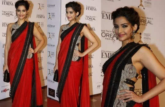 gorgeous-bollywood-divas-in-saree-sonam