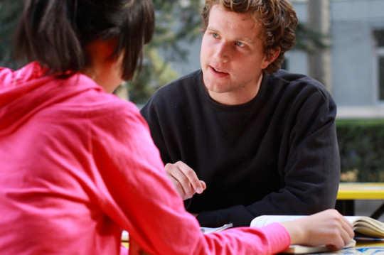 man-talking-to-woman