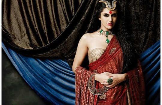 mandira-bedi-flaming-sarees-6