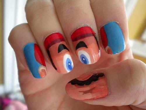 mario-nail-art