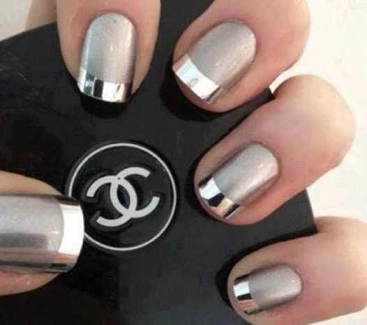 matte-black-french-nails