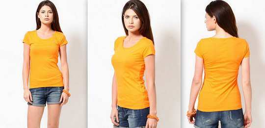 orange-round-neck-t-shirt-jabong
