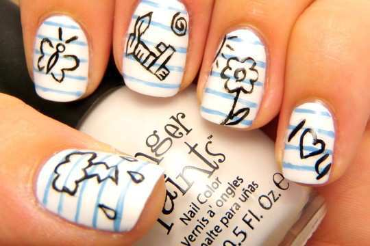 page-effect-nail-art