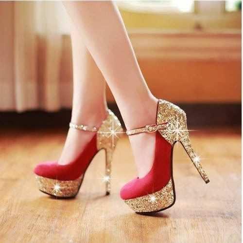red-glitter-heels