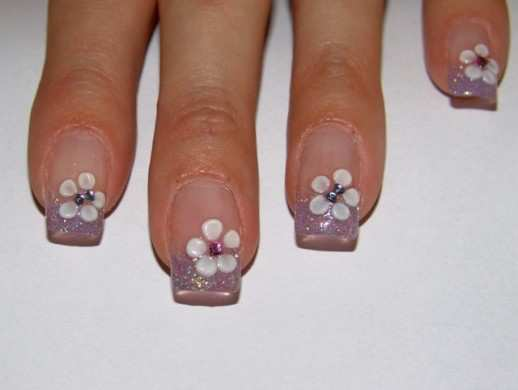 shimmery-twist-french-nails