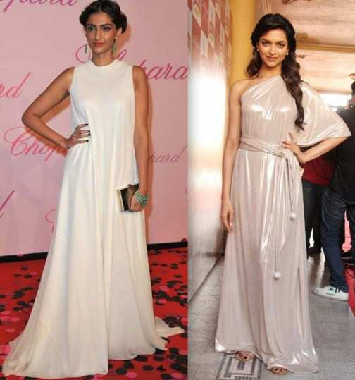 sonam-and-deepika-in-party