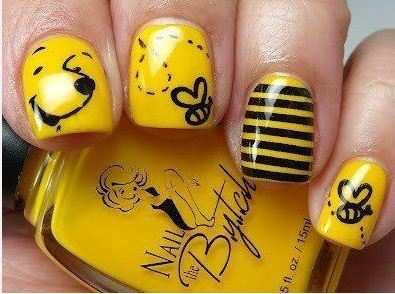winny-the-pooh-nail-art