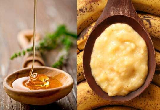 Banana-and-honey-face-mask