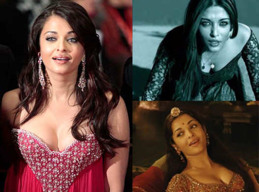 Bollywood Hot Cleavage Show Aish