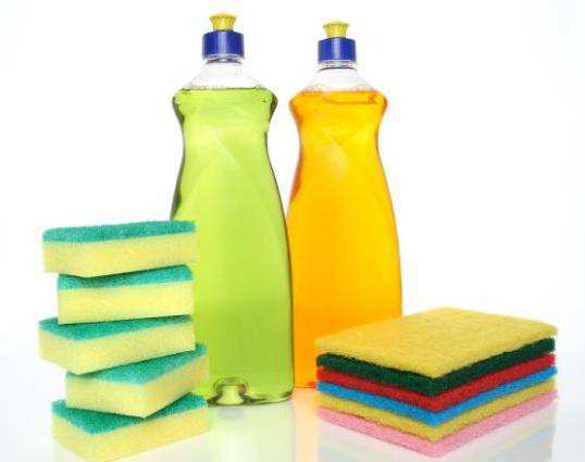 Bottles-Of-Dishwashing-Liquid