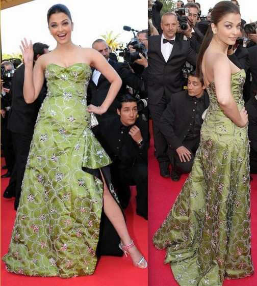 aishwarya rai in green