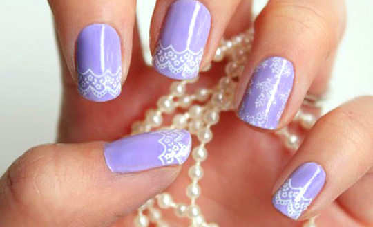 cute-lace-nail-art