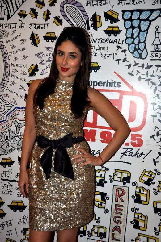 kareena-kapoor-in-gold-shimmer-dress