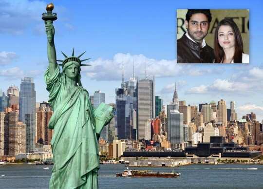 Aishwarya-Abhishek-in-new-york