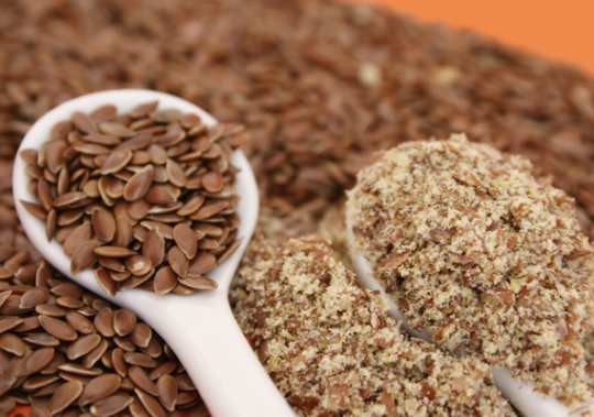 Ground-flaxseed