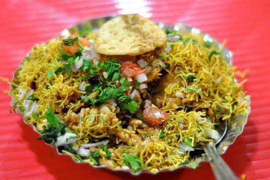 Rice-Sev-Chaat-Recipe