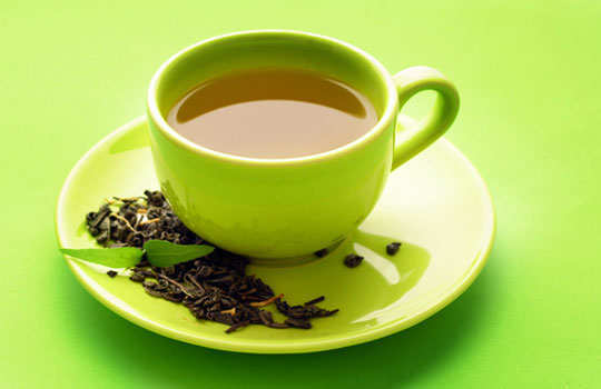 get-rid-ofdouble-chin-home-remedies-green-tea