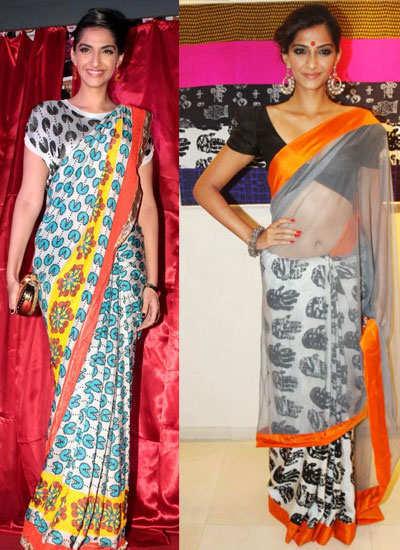 quirky-sari-sonam-kapoor