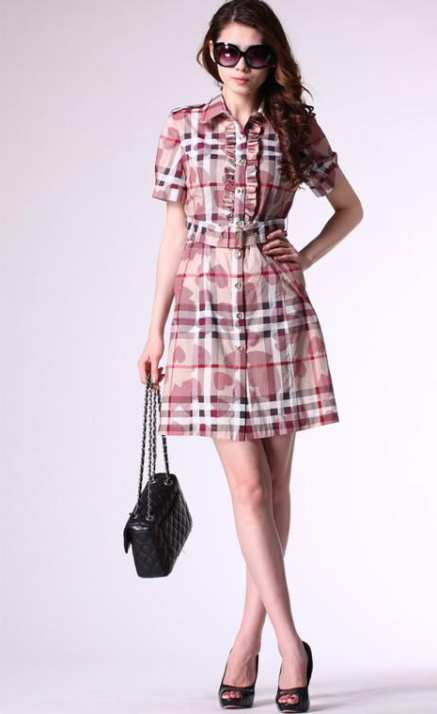 Burberry-Brit-Classic-Checked-dress