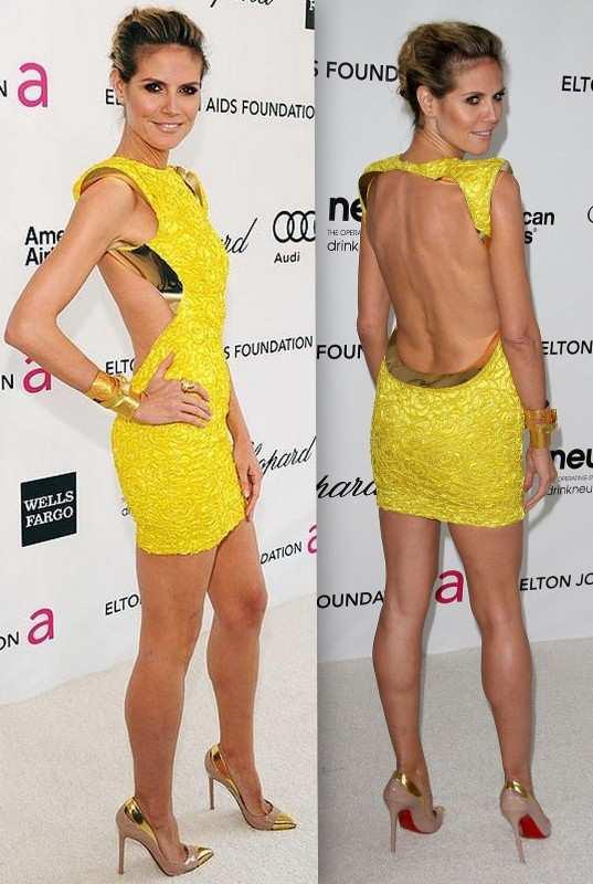 Heidi-Klum-cut-out-dress