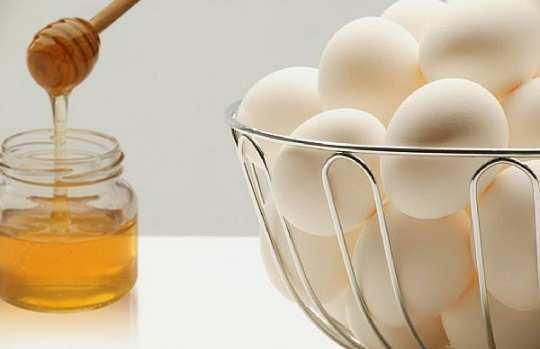 Honey-and-egg-white