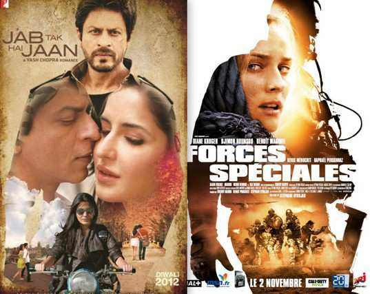Jab-Tak-Hai-Jaan-and-Special-Forces-Posters