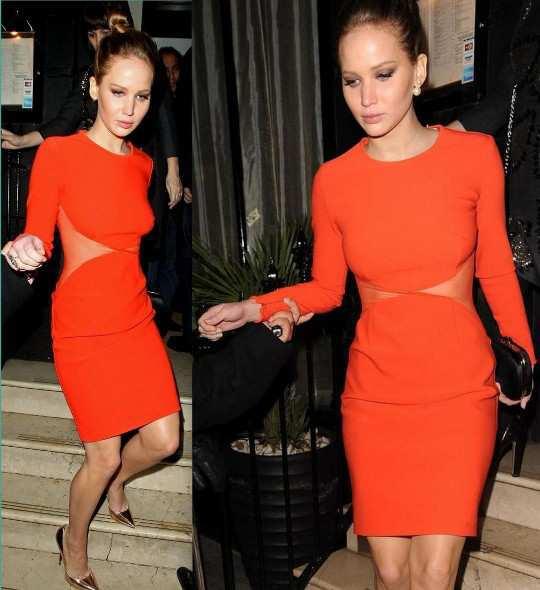 Jennifer-Lawrence-cut-out-dress