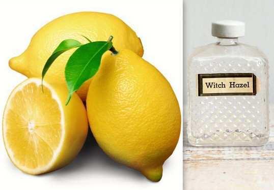 Lemon-Hazel Astringent