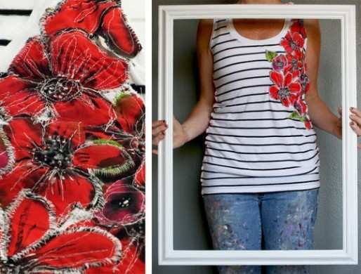 Makeover-Ideas-to-an-Old-Boring-Shirt-T-shirt-5