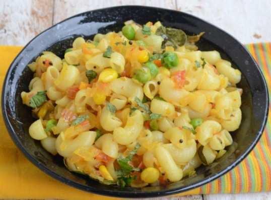 Masala-macaroni