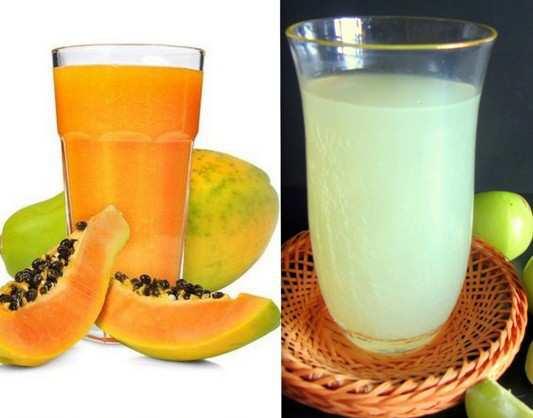 Papaya-or-Gooseberry-Juice