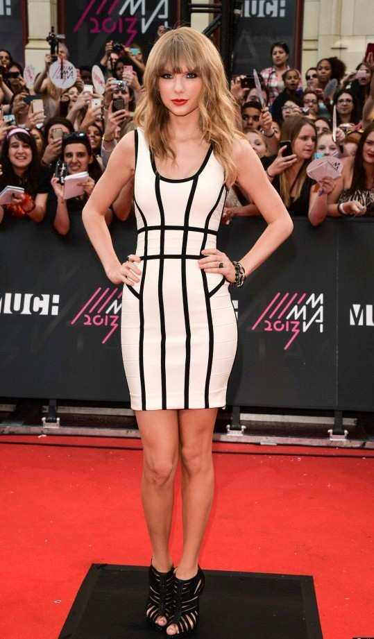 Taylor-Swift-bodycon-dress