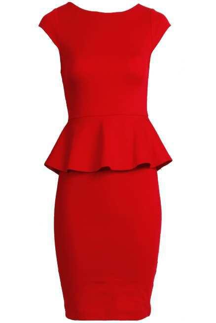 Victoria-Peplum-Dress-in-Red