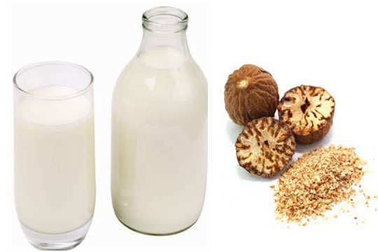 dry-skin-acne-home-remedies-raw-milk-nutmeg